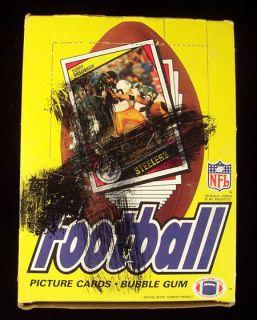 1984 Topps Football Wax Box Marino Elway 36 Packs