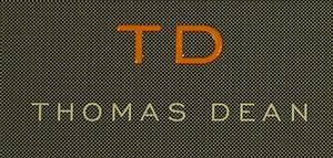 Thomas Dean 100 2 Ply Cotton L s Modern Pattern Dress Shirt Grey s 2XL