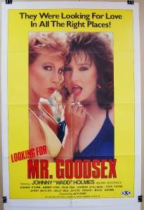 1985 Looking for Mr Goodsex Original 27x41 Movie Poster XRATED John Holmes
