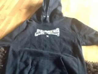 John Cena WWE black Hooded Kids Hoodie Large 14