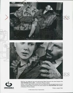 1996 Press Photo John Malkovich Nicole Kidman in The Portrait of a Lady
