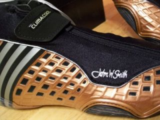 NWT MAT WIZARD III JOHN W SMITH ADIDAS BRONZE WRESTLING SHOES MENS SIZE 11 1 2