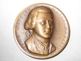 John Hancock Medallic Art Company Medal High Relief