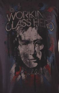 John Lennon Working Class Hero t shirt Vintage Concert Style Tee Shirt