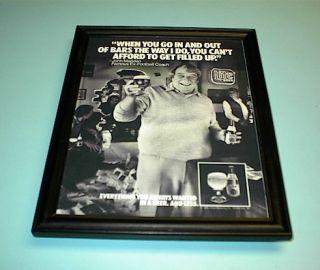 1985 Miller Lite Beer Framed Ad Print John Madden