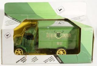 Ertl Diecast Truck Bank John Deere 1926 Mack 5534 Mint Die Cast Truck Bank