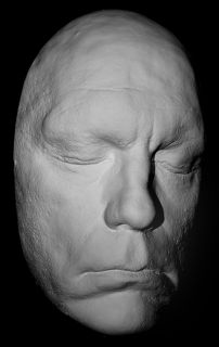 John Malkovich Life Mask Shadow of The Vampire Life Cast in Light Weight Resin