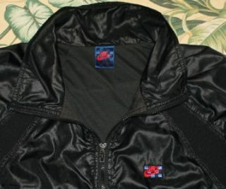 Vtg Nike Black Windrunner John McEnroe Jacket Large L