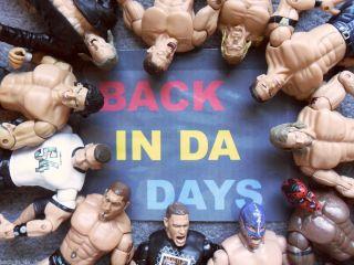 WWF WCW WWE Wrestling Figures Classics Legends John Cena Nash Choose from Many