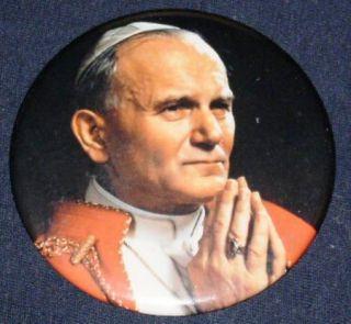 His Holiness Pope John Paul II Pinback