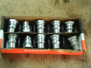 Case IH John Deere Parker Pioneer New Hydraulic Fittings Lot of 10 Tractor