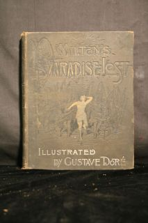 Paradise Lost John Milton Gustave Dore Illustrated Book
