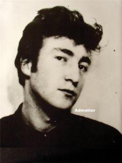 Vint 2 Sided Beatles Poster John Lennon Paul McCartney