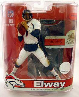 NFL Legends Series 3 John Elway Variant Action Figure Denver Broncos McFarlane