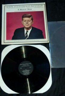 John Fitzgerald Kennedy A Memorial Album JFK Inaugural Address Jan 20 1961 RARE