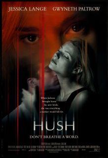 Hush 1998 Original U s One Sheet Movie Poster