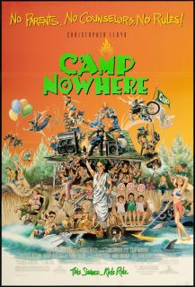 Camp Nowhere 1994 Original U s One Sheet Movie Poster