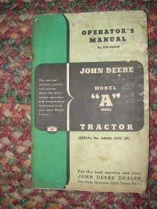 John Deere Tractor Operaters Manual OM R2002R A Series