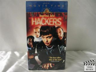 Hackers VHS New Angelina Jolie Johnny Lee Miller 027616696038