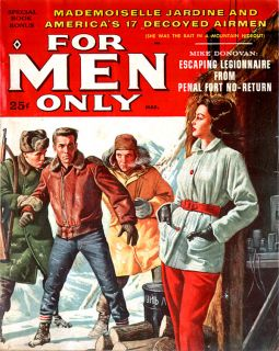 For Men Only WALTER POPP Princess Come On Girls FOREIGN LEGION Wickedest Island