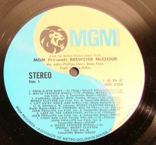 John Phillips Merry Clayton Brewster McCloud OST LP
