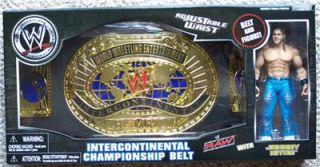 WWE Championship Belt Replica with Johnny Nitro