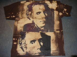 Johnny Rotton True 80s Vintage T Shirt Punk Otis Biscuits Stain Print
