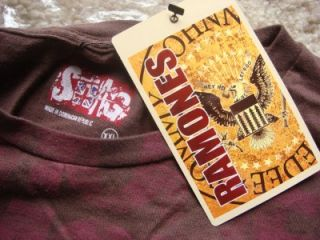 RAMONES JOHNNY RAMONE SWAG T SHIRT NWT XXL ROCK N ROLL NICE