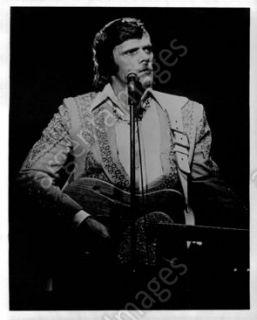 1976 Johnny Paycheck Singer Press Photo