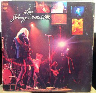 Johnny Winter Band Live LP VG C 30475 Vinyl 1971 Record