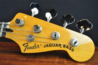 Fender Jaguar Electric Bass Guitar Owned by Justin Meldal Johnsen on NIN Tour