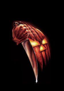 Halloween Movie Poster Art Michael Myers John Carpenter Horror