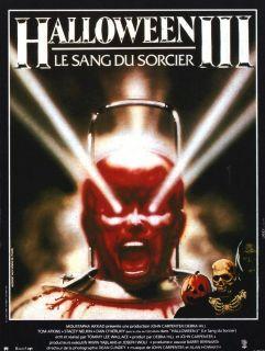 Halloween 3 Movie Poster Art Michael Myers John Carpenter Horror