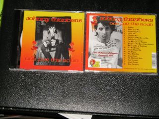 JOHNNY THUNDERS One for the Road Live Hollywood 1987 CD NEW YORK DOLLS