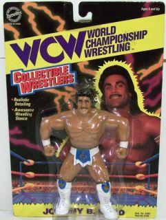 WCW OSFT Collectible Wrestlers Figure Series 1 Johnny B Badd New WWF WWE TNA LJN