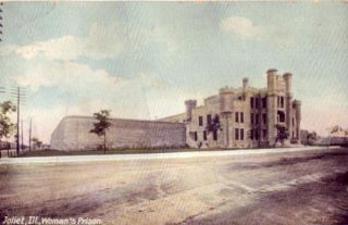 Joliet Illinois Woman's Prison Dirt Road