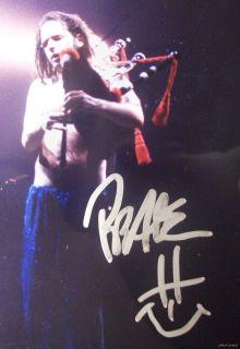 Korn Jonathan Davis Signed Autographed Print COA Concert w Bagpipes 5 of 10