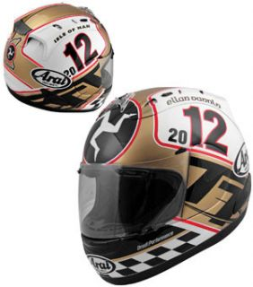 Arai Corsair V Limited Edition 2012 Isle Of Man TT Full Face Helmet M Medium