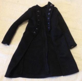 """Black Coat from Skyline Fits 16"""" Cami Jon and Antoinette Robert Tonner Dolls"""