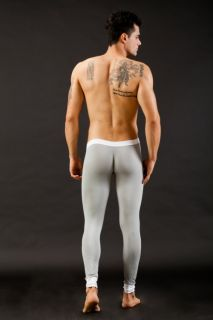 New Modal Mens Long Johns Thermal Underwear Pants Size M