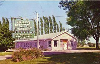 Rushville IL Jolley's Motel Mr Mrs James Jolley MGRS