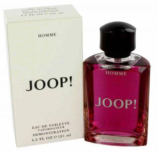 JOOP HOMME 4 2 oz mens Cologne EDT spray tester