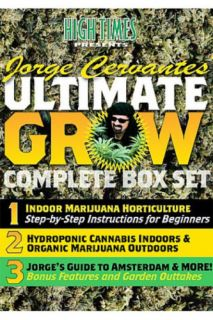 Jorge Cervantes' Ultimate Grow Complete Box Set DVD'S