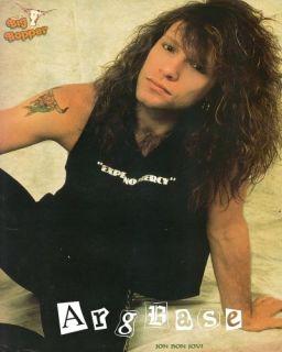 80s Jon Bon Jovi Pinup 174