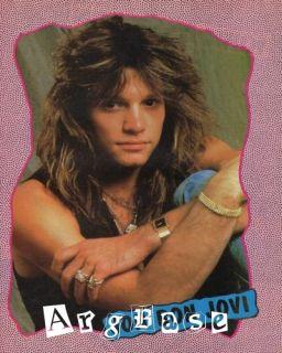 80s Jon Bon Jovi Pinup 193