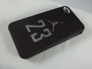 iphone 4 and 4s jordan 23 black case nice case