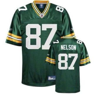 87 Jordy Nelson Green Bay Packer Jersey Size Womens Large in Green New