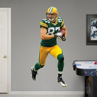 Jordy Nelson Fathead Green Bay Packers Life Size Official Wall Graphic Huge
