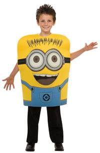 Child Small Minion Jorge Kids Costume Despicable Me Costumes