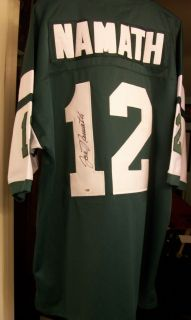 Joe Namath PSA DNA Signed Autographed New York Jets Jersey Mitchell Ness